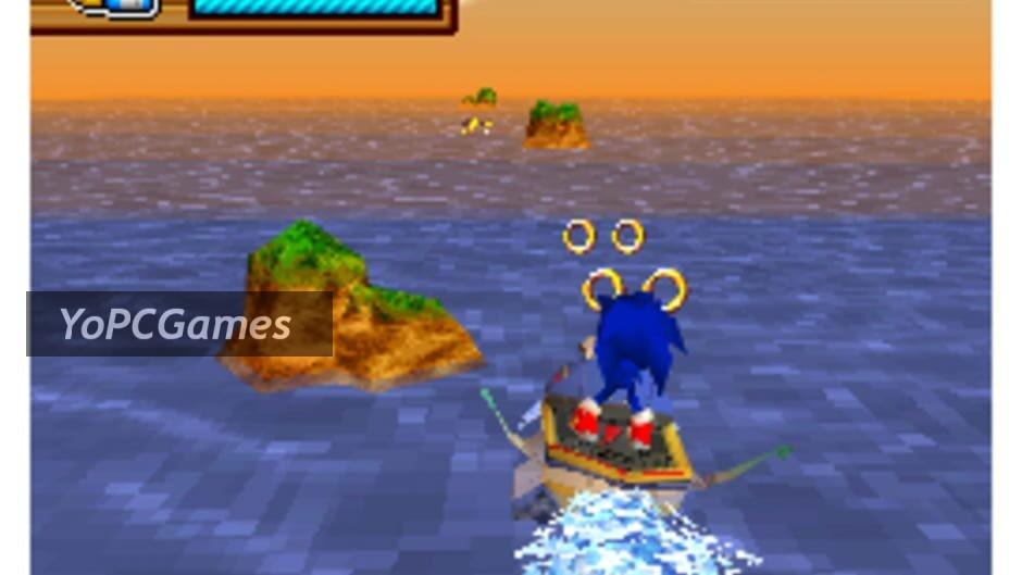 sonic rush adventure screenshot 3