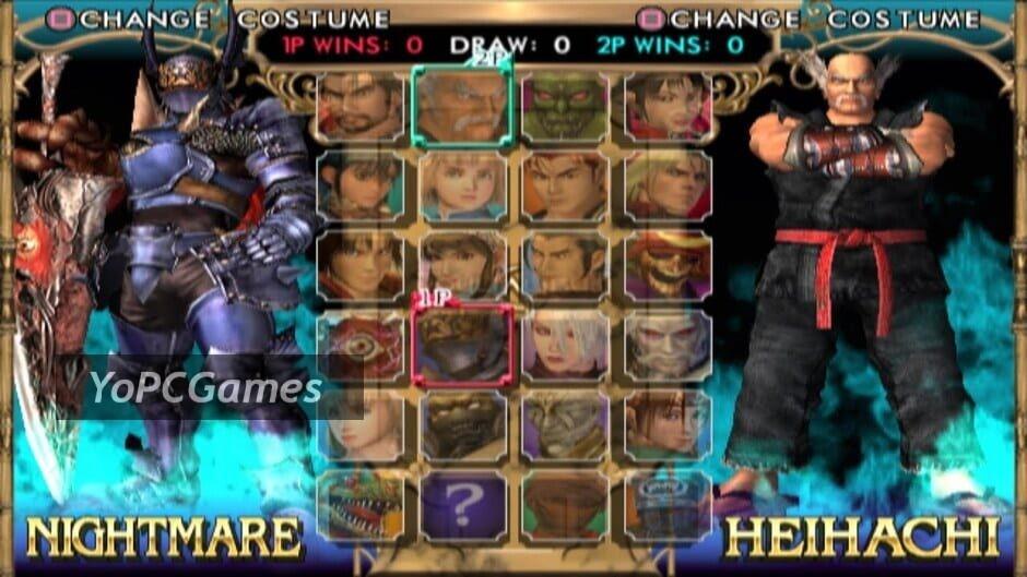 soulcalibur ii screenshot 1