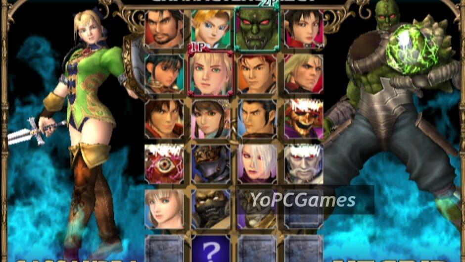 soulcalibur ii screenshot 5