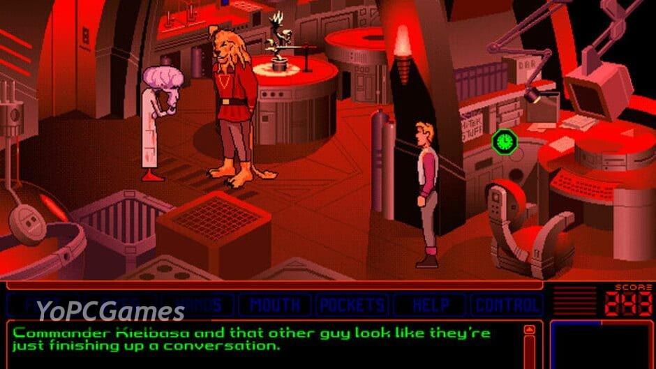 space quest v: the next mutation screenshot 3