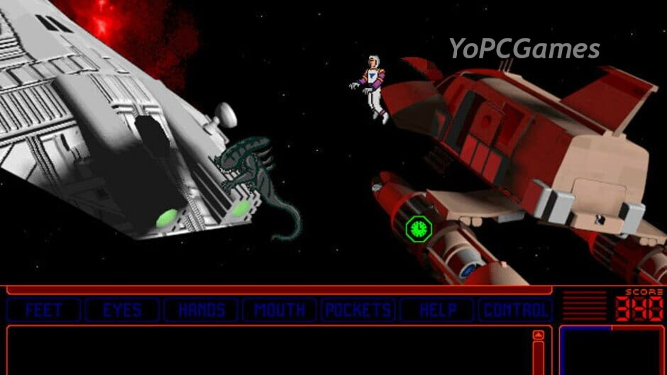 space quest v: the next mutation screenshot 2