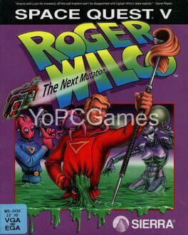 space quest v: the next mutation cover
