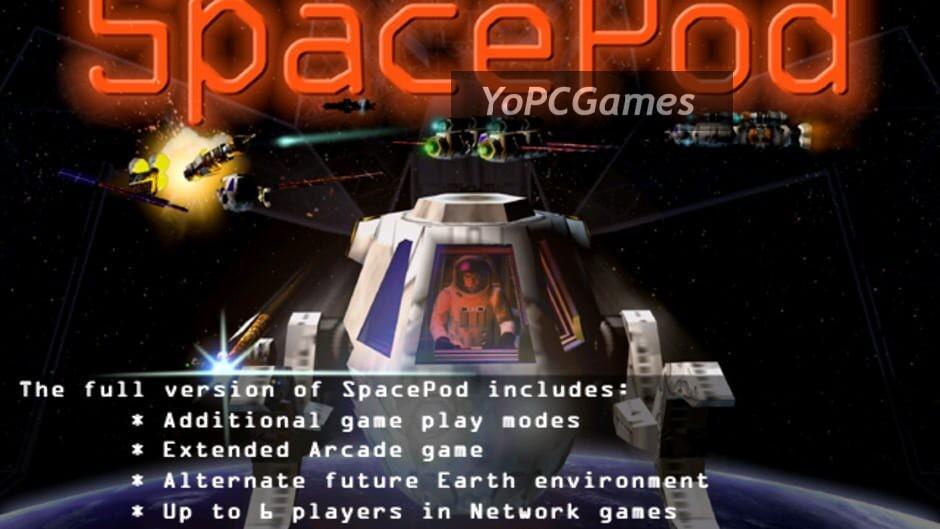 spacepod screenshot 2