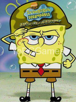 spongebob squarepants: battle for bikini bottom poster