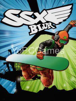 ssx blur poster