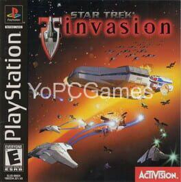 star trek: invasion cover