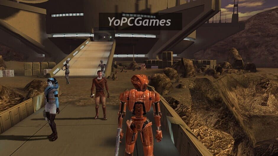 star wars: knights of the old republic screenshot 3