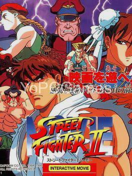 street fighter ii: movie poster