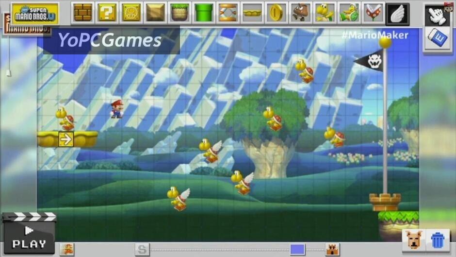 super mario maker screenshot 3
