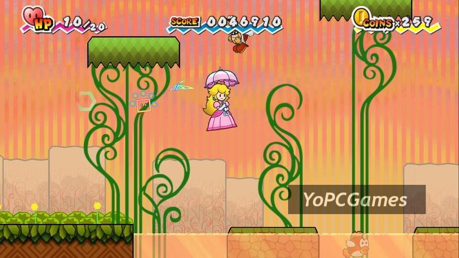 super paper mario screenshot 3