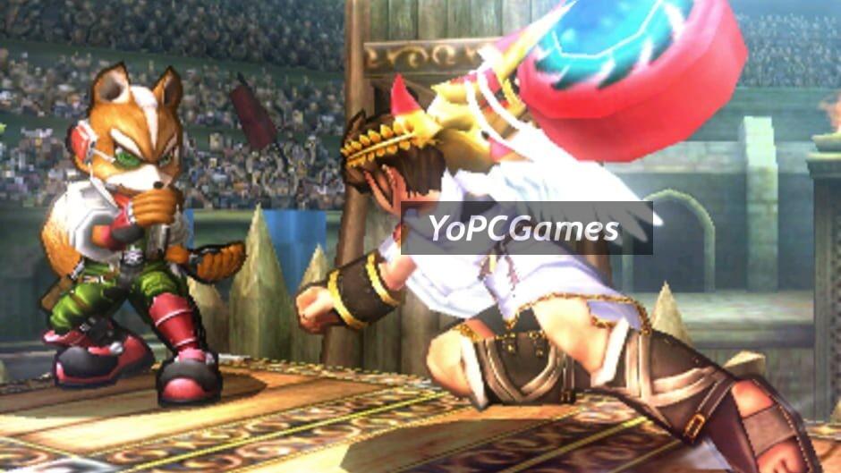 super smash bros. for nintendo 3ds screenshot 3