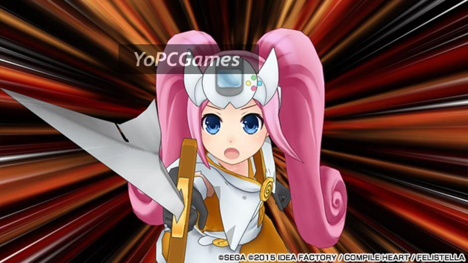 superdimension neptune vs sega hard girls screenshot 5