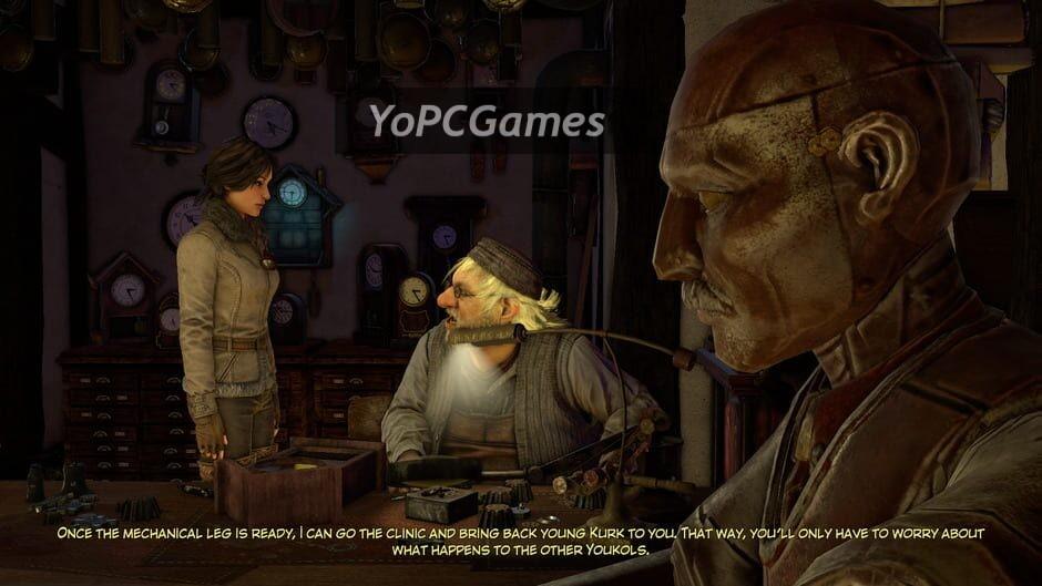 syberia 3 screenshot 2
