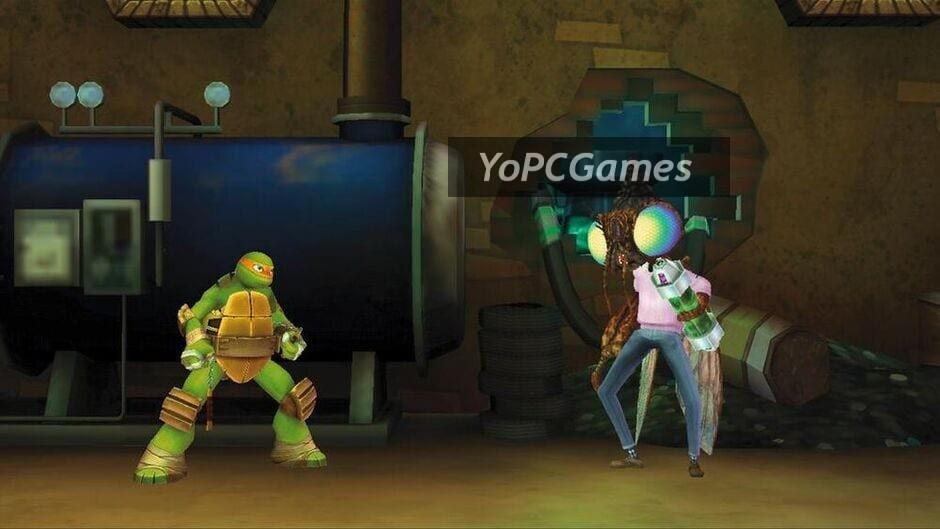 teenage mutant ninja turtles: danger of the ooze screenshot 2