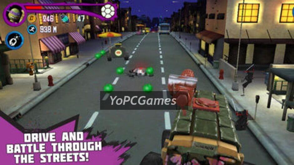 teenage mutant ninja turtles: rooftop run screenshot 3
