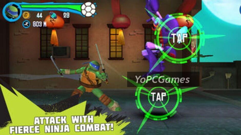 teenage mutant ninja turtles: rooftop run screenshot 5