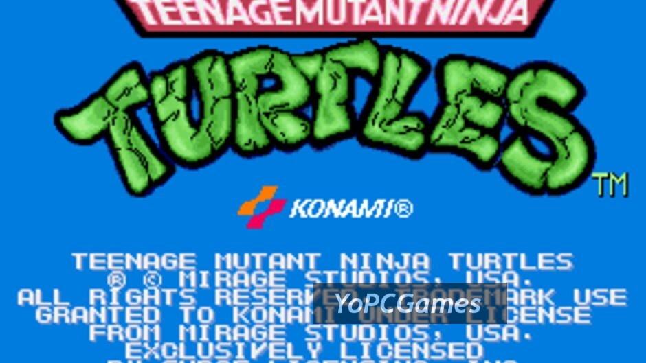 teenage mutant ninja turtles screenshot 5