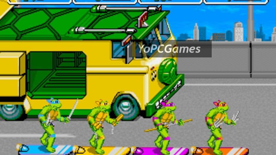 teenage mutant ninja turtles screenshot 4