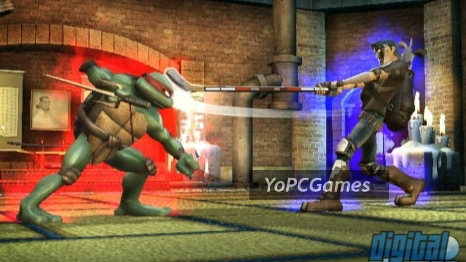 teenage mutant ninja turtles: smash-up screenshot 3