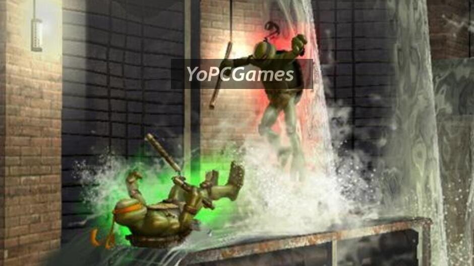 teenage mutant ninja turtles: smash-up screenshot 5