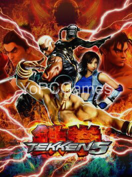 tekken 5 cover