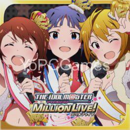 the idolmaster: million live! poster
