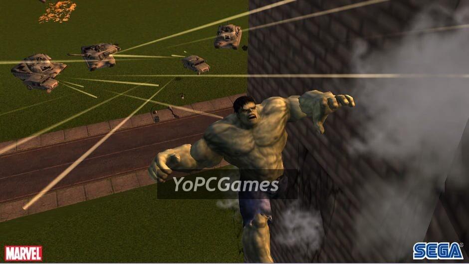 the incredible hulk screenshot 1