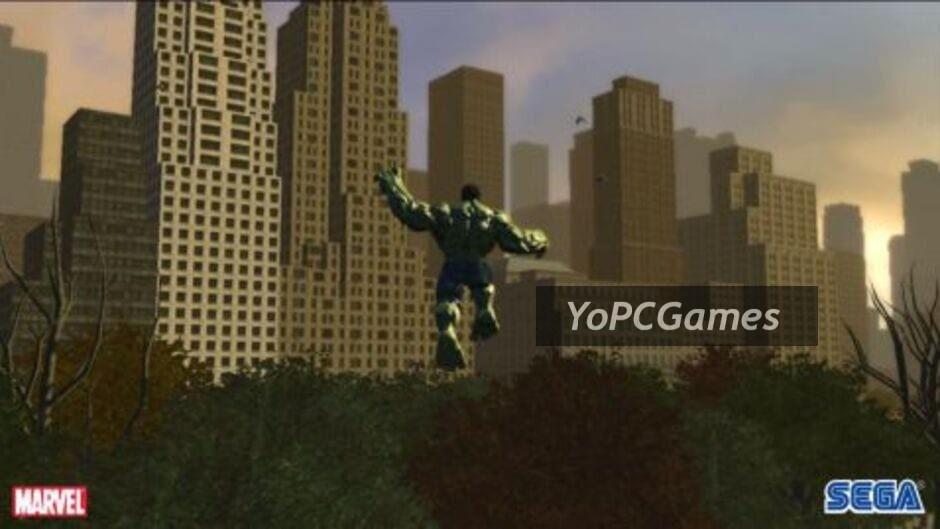 the incredible hulk screenshot 3
