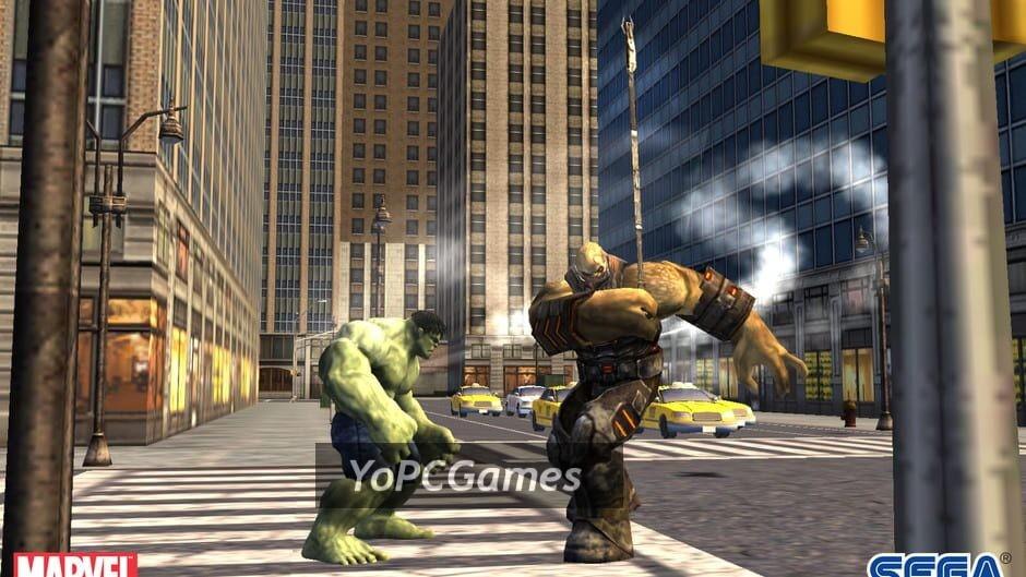the incredible hulk screenshot 5