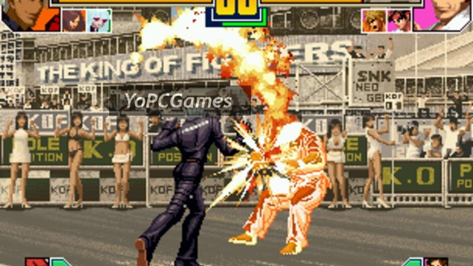 the king of fighters 2001 screenshot 1