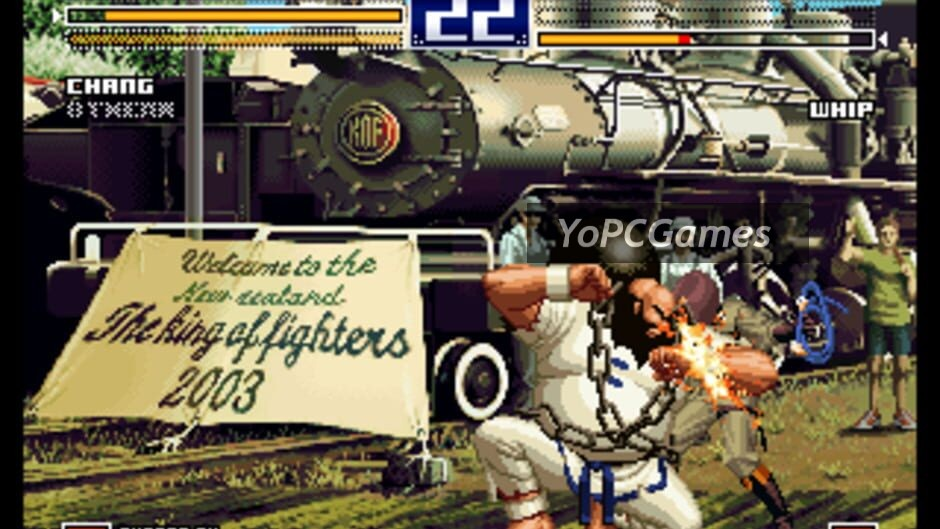 the king of fighters 2003 screenshot 1