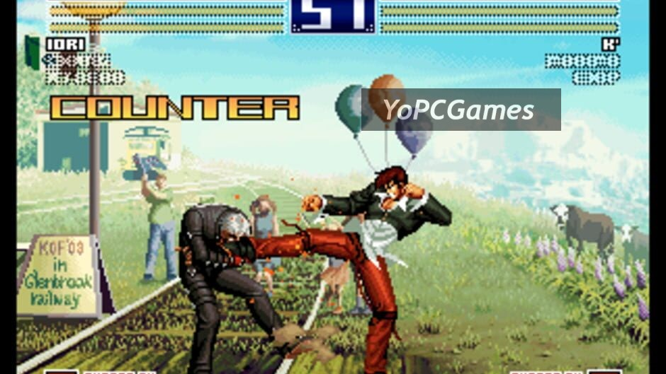 the king of fighters 2003 screenshot 2