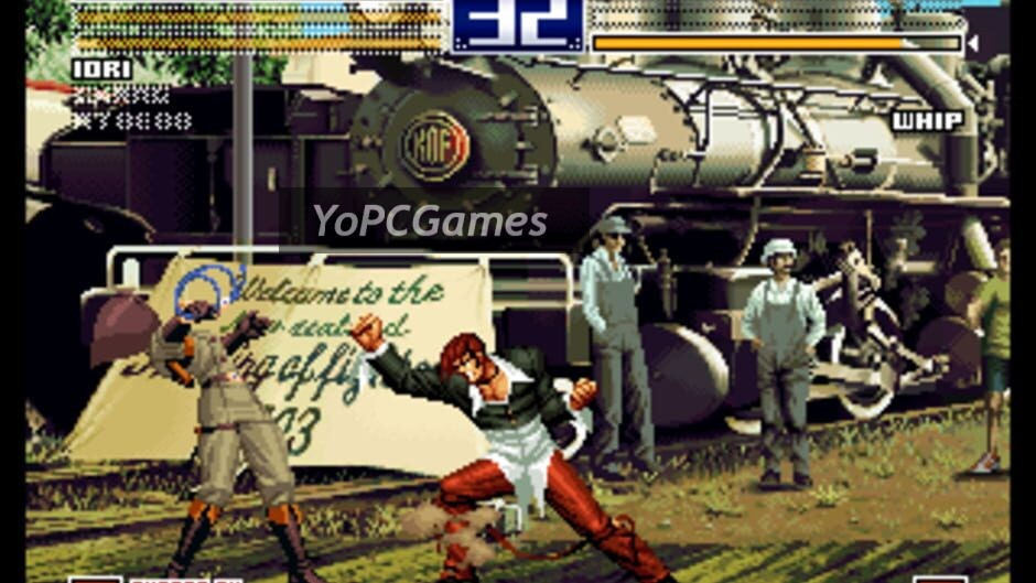 the king of fighters 2003 screenshot 3