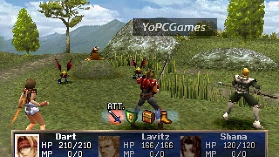 the legend of dragoon screenshot 2
