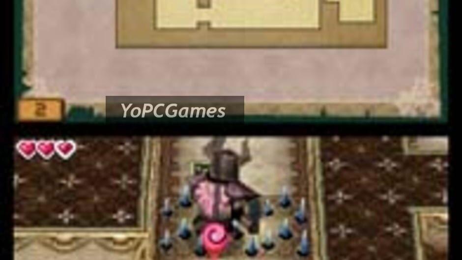 the legend of zelda: spirit tracks screenshot 1