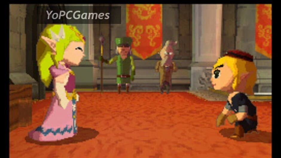 the legend of zelda: spirit tracks screenshot 2