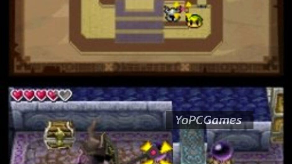 the legend of zelda: spirit tracks screenshot 3