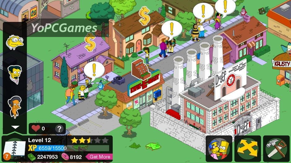 the simpsons: tapped out screenshot 1