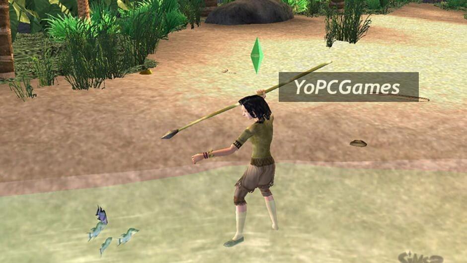 the sims 2: castaway screenshot 1