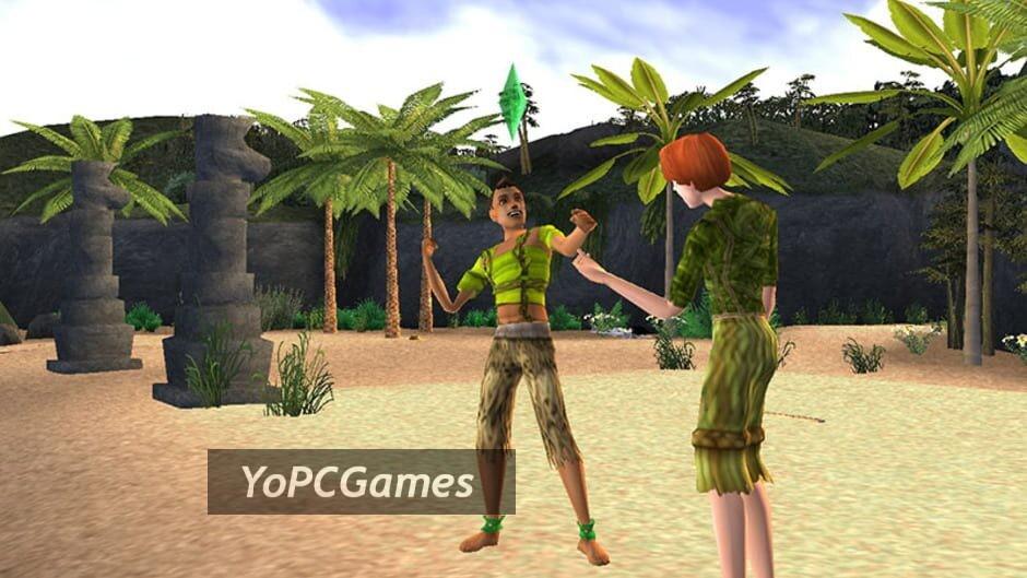 the sims 2: castaway screenshot 3