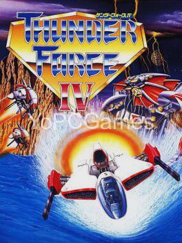 thunder force iv poster