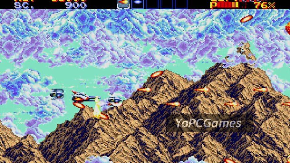 thunder force iv screenshot 3