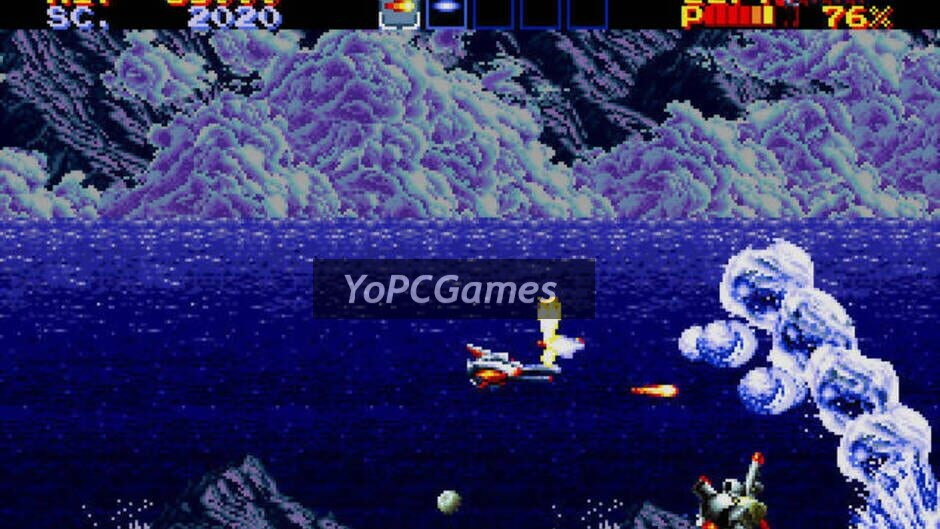 thunder force iv screenshot 4