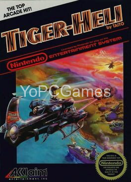 tiger heli poster