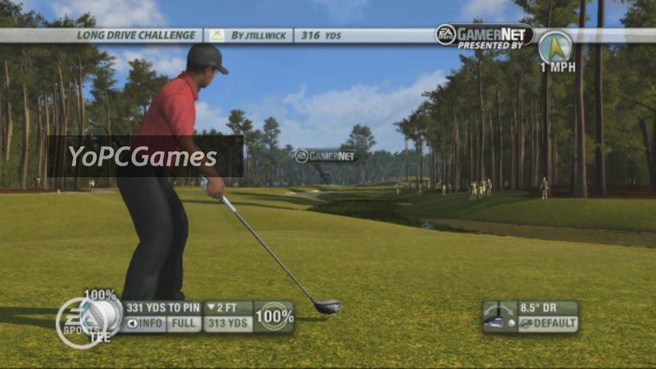 tiger woods pga tour 09 screenshot 1