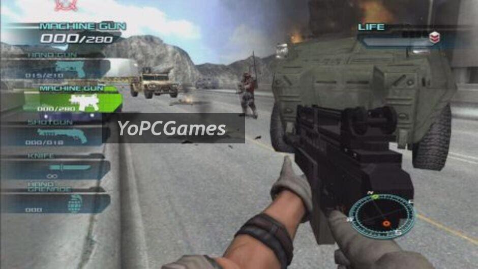 time crisis 4 screenshot 1