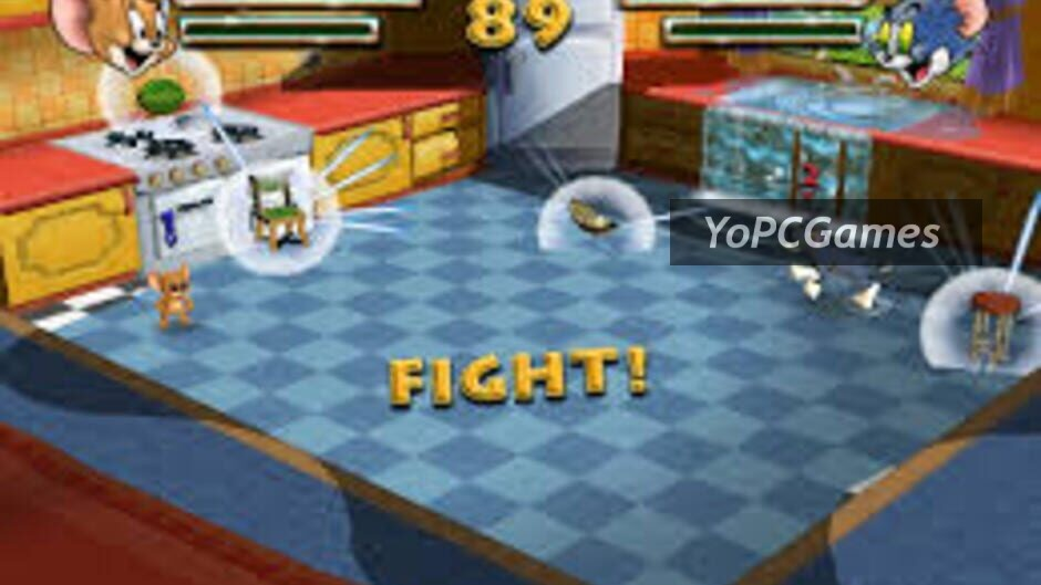 tom and jerry in war of the whiskers screenshot 3
