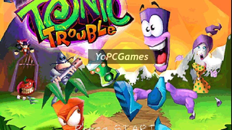 tonic trouble screenshot 2
