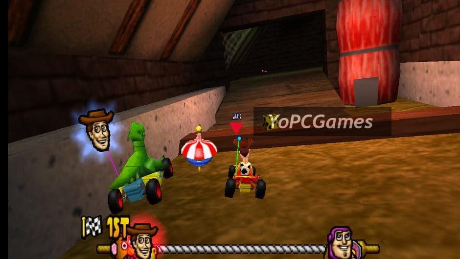 toy story racer screenshot 2