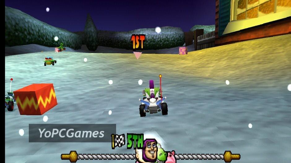 toy story racer screenshot 4